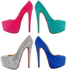 Christian Louboutin high heels!