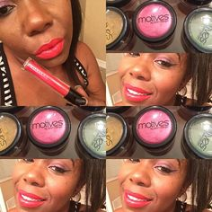 Vamping with @Glamtrio with Make up Love Eyes Caramel pressed shadow is the base color with Naughty Mauve on the Lid with Bitter Chocolate at outer corners and Creme Fresh at the Brow bone LBD use to create the Line  Foundation Made by me Custom Blend Powder Lips Ravish all day liquid stick all can be found @glamtrio #motivescosmetics  via @angela4design by glamtrio