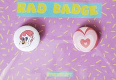 Celebrate all things sweet and sassy with these two button badges from the Powerpuff Girls! Each Badge is 32 mm, designed and made in house.