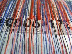 Barcode Installation detail by Kirsty Whitlock    handeyemagazine.com