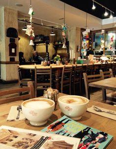 Coffe XXL Le pain quotidien Barcelona