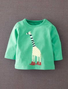 I've spotted this @BodenClothing Retro Animal Print T-shirt Spearmint Giraffe
