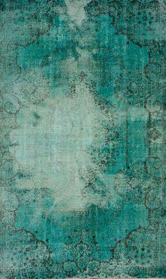 Rugs USA Overdye Adelaida Washed Turquoise Rug