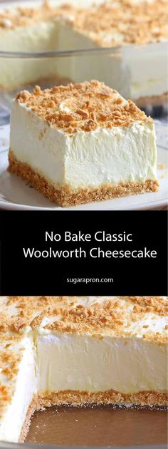 Classic Woolworth Cheesecake Recipe - Best Taste of Food!No Bake Classic Woolworth Cheesecake Recipe - Best Taste of Food!Bake Classic Woolworth Cheesecake Recipe - Best Taste of Food!No Bake Classic Woolworth Cheesecake Recipe - Best Taste of Food! Cold Desserts, No Bake Desserts, Dessert Recipes, Easter Recipes, Easy Desserts, Woolworth Cheesecake Recipe, Cheesecake Recipes, Crackers, Graham
