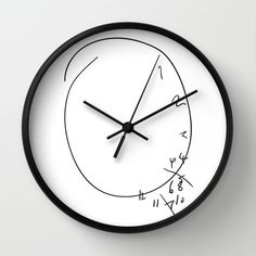 Savoureux - Hannibal Clock Wall Clock https://society6.com/product/hannibal-clock_wall-clock?curator=readthisva