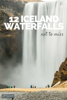 12 Mighty Iceland Waterfalls Not to Be Missed - I usually refer to Iceland as the land of waterfalls. With all of them in mind, I took on the task of selecting 12 Iceland waterfalls you can't miss in Iceland | The Planet D Travel Blog by Canada's Adventure Couple!