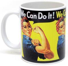 Caneca Retrô We Can Do it - 330 ml