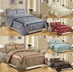 Bedspreads 3pcs (piece) Jacquard Bedroom Set Quilted Comforter Set Bedding Set Bedspreads Comforters, Quilted Bedspreads, Pillow Shams, Pillows, Bed Throws, Bed Spreads, Comforter Sets, Mattress, Duvet Covers