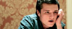 Oh. My. God. This Josh Hutcherson GIF is perfection, and I'm pretty sure I'm melting now.