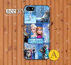 Disney frozen Phone cases iPhone 5 case iPhone 5s case by aceDIY