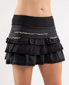 Lulu run skirt...you can look cute even when you're exercising!