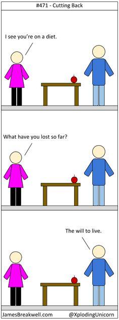 Cutting Back ~ James Breakwell's Unbelievably Bad Webcomic