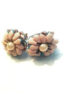 Cloth Vintage earrings.
