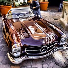 A perfect #300SL Roadster at the #coloradogrand last month. #mercedesbenzofhuntvalley