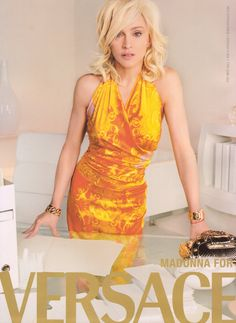 Madonna For Versace 2005