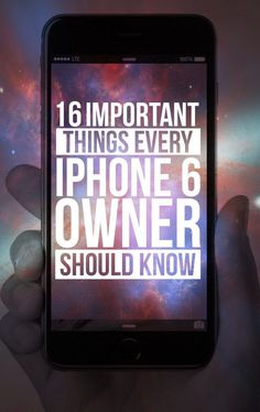 16 Important Tips Every iPhone 6 Owner Should Know