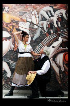 série Frida Khalo sur fresque murale citécréation - Photos Philippe Guilloud
