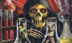 Skulls n Skeletons Pub Vintage, Vintage Horror, Vintage Art, Vintage Comics, Horror Posters, Horror Comics, Halloween Horror, Halloween Art, Dark Fantasy Art