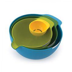 Joseph Joseph Nest Mix   4-piece mixing bowl set with egg separator