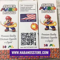 Super Mario 30Ml Tatlı Sakız Aromalı