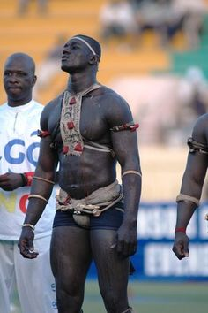 "A ""Laamb"" aka traditional Senegalese wrestler. African Tribes, African Diaspora, African Men, African History, African Beauty, Cultures Du Monde, World Cultures, Fille Gangsta, African Culture"