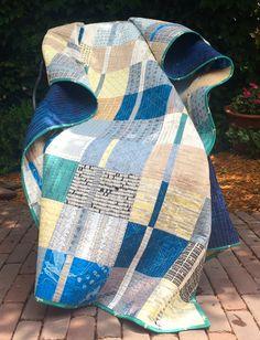 Juxtaposition quilt by Blue Underground Studios, Inc. Fabrics by Carolyn Friedlander