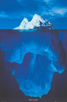 Icebergs in Alaska! Just goes to show you that there is always more than you can…