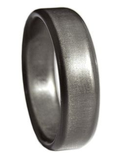 Carbon Fiber wedding band, non-conductive for electricians