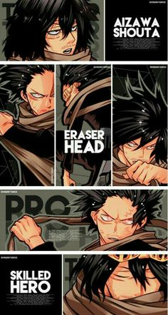 My Hero Academia Shouta Aizawa