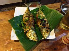 Chilli stuffed fish