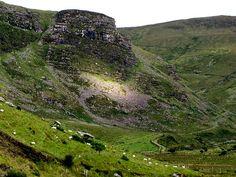 Anascuaul Lake mountains - Dingle, Co. Kerry, Ireland