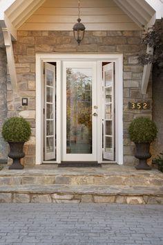 Vented sidelight patio doors design features neuma doors for Peachtree fiberglass entry doors