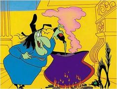 Witch Hazel Looney Tunes | Akire es la bruja de Looney Tunes, ¡Witch Hazel!