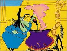 Witch Hazel Looney Tunes | Akire es la bruja de Looney Tunes, ¡Witch Hazel!