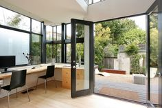 Black Doors Design Ideas, Pictures, Remodel, and Decor - page 16
