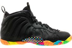 403b109255b2fd Black Fruity Pebbles Foams Release Date Fruity Pebble Foamposites