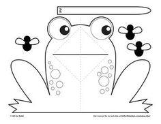 Easy Pop-Up Frog - Art for Kids Hub