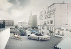 Syrena Sport on the rooftop photo:Tomek Albin