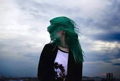Find images and videos about girl, hair and grunge on We Heart It - the app to get lost in what you love. Green Hair, Blue Hair, Lilac Hair, White Hair, Hatoful Boyfriend, Polaris Marvel, Piercing, Indie Scene, Punk