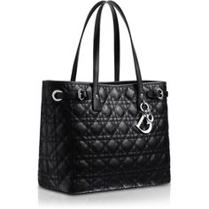 DIOR PANAREA Panarea shopping bag in black canvas