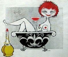 Disney legend Rolly Crump's vintage drugs, Beatnik & Commie posters Album Art, Crump, Illustration Art, Retro Comic, Poster Art, Art, All Art, Original Art, Vintage Illustration