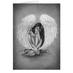 Gone too soon Angel Wings Beauty Rose Art Print Emo Fantasy . - Gone too soon Angel Wings Beauty Rose Art Print Emo Fantasy Girl Woman Zindy Nielsen - Fantasy Girl, Rose Art, Girl Tattoos, Tatoos, Dove Tattoos, Celtic Tattoos, Small Tattoos, My Drawings, Pencil Drawings