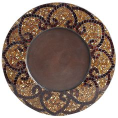Amber Mosaic Charger - Pier1 US