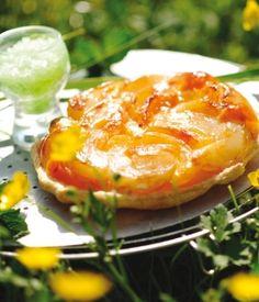 Tatin aux nectarines et à la menthe - Recettes de cuisine bio à réaliser à base de produits bio