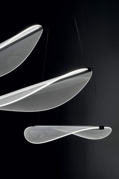 Lampada a sospensione a LED a luce diretta in PMMA DIPHY_P Collezione Diphy By Linea Light Group