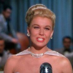 """Doris Day singing """"It's Magic"""" in Romance on the High Seas. A funny movie, too."""