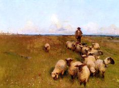 Across The Downs (Walter Frederick Osborne - )