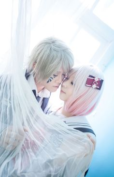 Senri and Koharu cosplay ♡o♡ I love this