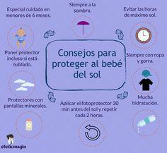 30b96c85af ¿Cómo proteger a los más pequeños del sol? @boticonsejos Cuidado De La Piel