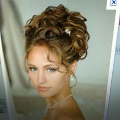 My wedding hairstyle